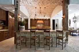 Tuscan Farmhouse Mediterranean Kitchen Houston By