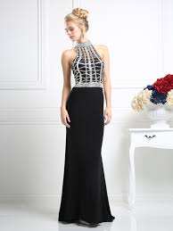 long halter evening dress sung boutique l a