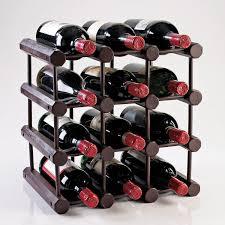 Modular 12 Bottle Wine Rack Mahogany Wine Enthusiast