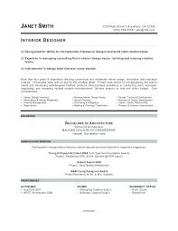 Unique Resume Formats Interior Design Sample Format Samples