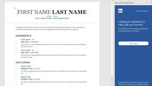 How To Use Microsoft Word's Resume Assistant To Look For A New Job ... How To Upload Your Resume Lkedin 25 Elegant Add A A Linkedin Youtube Dental Assistant Sample Monstercom Easy Ways On Pc Or Mac 8 Steps Profile Json Exporter Bookmarklet Download Resumecv From What Should Look Like In 2018 Money Cashier To Example Include Resume Lkedin Mirznanijcom Turn Into Beautiful Custom With Cakeresume