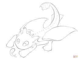 Toothless With The Fish Coloring Page From How To Train Your Dragon Category Select 25683 Printable Crafts Of Cartoons Nature Animals
