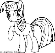 Good My Little Pony Coloring Pages Twilight Sparkle 98 On For Kids Online With