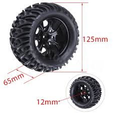 4pcs RC Truck Tires & Wheels Hex:12mm For 1/10 Off Road HSP Monster ... New 2015 Tuff At Wheels Allterrain Offroad Jeep Truck Suv Pin By Leo On Pinterest Offroad Trucks And Cars Winter Tires On The Off Road Wheel In Deep Snow Close Up Grid Titanium W Matte Black Lip 4pcs Rims Tyres For 110 Traxxas Road 1182 Custom Asanti Ab811 Satin With Milled Accents Rucci Forza 2pc Paint Inside Cali Switchback Dealr Automotive Lifted Lweight Honrsboardscouk