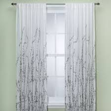 Bed Bath And Beyond Semi Sheer Curtains by Alton Print Grommet Window Curtain Panel Window Curtains Window