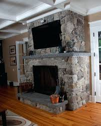 Granite And Stone Fireplace Design Natural Hearth Mantel Living Room