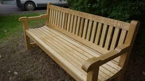 wood garden bench gardening ideas