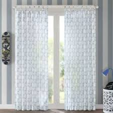 Bed Bath And Beyond Gray Sheer Curtains by Aura Solid Sheer Window Curtain Panel Bedbathandbeyond Com Bed