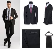 2015 Mens Suits Designs New Fashion Brand Designer Formal Slim Fit Party Suit Office High