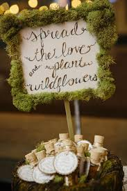 Moss Sign Is A Cool Idea For Woodland Or Rustic Wedding