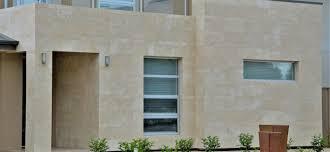 100 Travertine Facade Walls Marble Mocha Honed Tiles
