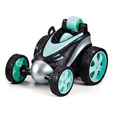 Mini RC Stunt Car Radio Electric Drift Rotating Wheel Vehicle Truck ...