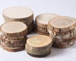 wood slices etsy