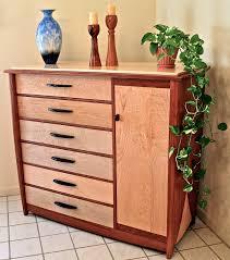 Antique Birdseye Maple Dresser With Mirror by Diy Modern Maple Dresser With 6 Drawer And Black Metal Handle Plus