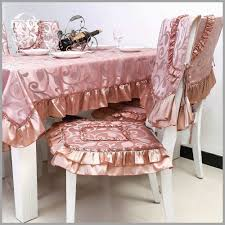 Dining Room Chair Cushion Covers Astonishing Cushions With Ruffles Butterick Waverly Of