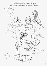 Frozen Trolls Coloring Pages