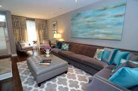 grey and turquoise living room gorgeous turquoise and grey