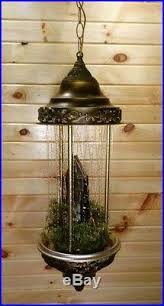 Antique Hanging Oil Rain Lamp by Grist Mill Hanging Oil Rain Lamp Moving Water Wheel Creators Inc Light