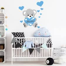 stickers nounours chambre bébé beautiful stickers turquoise chambre bebe contemporary amazing