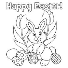 Easter Holiday Coloring Page