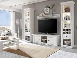 home affaire wohnwand california set 4 tlg bestehend aus 2 standregale lowboard wandregal kaufen otto