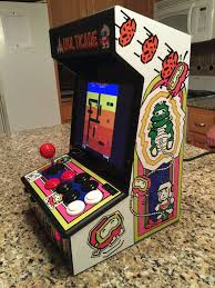 Raspberry Pi Mame Cabinet Tutorial by Bartop Mini Retro Arcade Raspberry Pi And Customised Icade 12