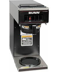 BUNN 133000011 VP17 1BLK Pourover Coffee Brewer With 1 Warmer Black 120V