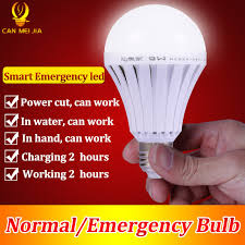 shop led smart rechargeable e27 emergency light bulb l