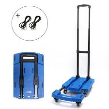 Folding Luggage Cart Portable Hand Truck 440lbs 360° Rotate 6 Sturdy ... Magna Cart Transport Fold Hand Truck Foldable Alinum Heavyduty Personal Folding Rugged Lweight Design Milwaukee Costco Sears Cheap Find Deals On Line At Alibacom Srs Mci Steel Red Best Trucks On The Market Dopehome Dudeiwantthatcom