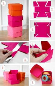 1001 idées comment faire une boîte en papier