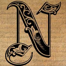 Letter I In Different Styles A Letter Different Styles N Letter In