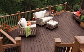 Furnishing Decorating A Small Deck Furniture Outdoor Patio ...