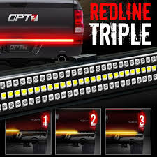 100 Ram Light Truck Parts 60 Tailgate 1200 LED Bar Sequential Turn Signal Back Up Brake