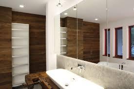 alte werkbank als waschtisch für modernes badezimmer wolf