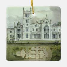 Chateau Floor Plans Vintage Architecture Chateau Floor Plans Ceramic Ornament Zazzle