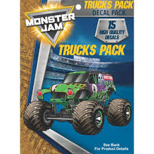 Monster Jam Trucks Decal Sticker Pack | Decalcomania Monster Jam Grave Digger 24volt Battery Powered Rideon Walmartcom Amazoncom Hot Wheels 2017 Release 310 Team Flag Truck Toys Buy Online From Fishpdconz Us Wltoys A979b 24g 118 Scale 4wd 70kmh High Speed Electric Rtr Big 110 Model 4ch Rc Tri Band Wheels Shark Diecast Vehicle 124 Sound Smashers Bestchoiceproducts Best Choice Products Kids Offroad Shop Cars Trucks Race Wltoys 12402 112th Scale 24ghz Games Megalodon Decal Pack Stickers Decalcomania Zombie Radio Rc Remote Control Car Boys Xmas