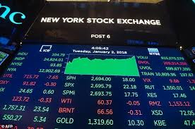 Wall Street Opened 2018 In A Full Throttle Bull Market With All Three Indexes