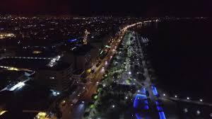 100 Molos At Night Limassol Cyprus YouTube