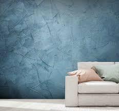fototapeten strukturen und muster meer blau welle marmor tapete