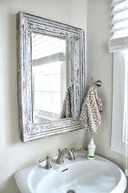 bathrooms design lovely shabby chic bathroom mirrors with