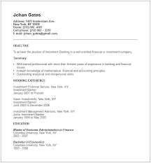 Short Resume Example Form Sample For Job Seekers Simple