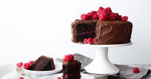 Chocolate Raspberry Layer Cake Wife Mama Foo