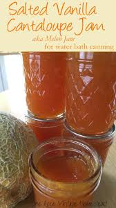 Water Bath Canning Pumpkin Puree by Salted Vanilla Cantaloupe Jam A Water Bath Food Preservation Recipe