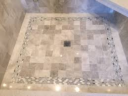 shower pan floor in meram blanc 4 with coral springs mixed glass