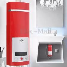 5500w instant electric tankless water heater shower system under