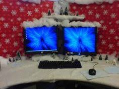 Cubicle Decoration Ideas For Christmas by My Cubicle Decorated For Christmas Gonna Have To Do Something