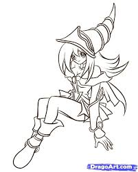 Yu Gi Oh Coloring Pages 35