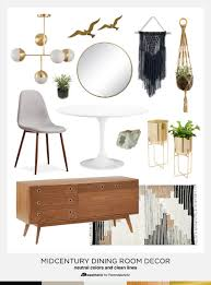 Dining In Style Neutral Mid Century Modern Room