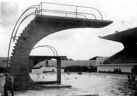 The Old Concrete Diving Board 1938