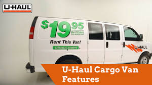 U-Haul Cargo Van Features - YouTube
